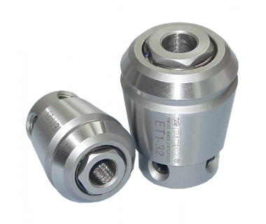 ET1-16150AL:    ER16 Special Long Tapping Collet for shank Ø1.5mm, w/Locking Screw In Front