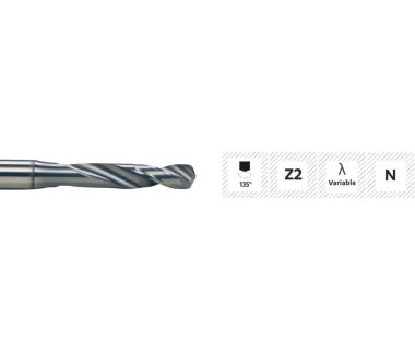 TD-370-0.90:  0.9mm Expert Carb Drill for SS/Inox