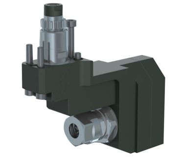 STA-NEED TO FIX:  Cross drilling/milling unit for sub spindle ER16