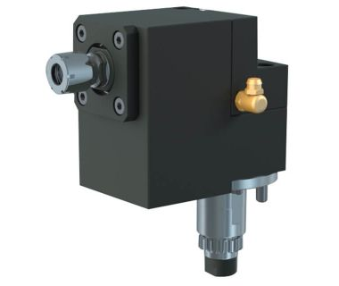 STA-NEED TO FIX:  Cross drilling/milling unit for sub spindle ER11