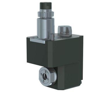 STA-BWCSR20: Cross drilling/milling unit for sub spindle ER11