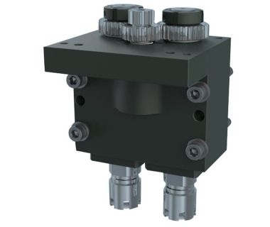 NOM-NEED TO FIX:  Cross Drilling/milling unit, 2-Spindle
