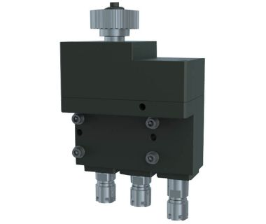 NOM-NEED TO FIX:  Cross Drilling/milling unit, 3 Spindle